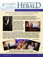 Wilshire Hospice Newsletter Spring 2014