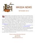 November 2014 Newsletter - Wisconsin Association of School