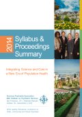 IPS 2014 Syllabus - American Psychiatric Association