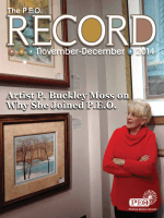 Artist P. Buckley Moss on Why She Joined P.E.O. - PEO International
