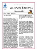 Listwood Newsletter and Calendar - West Irondequoit Central