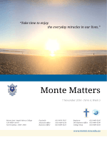 Monte Matters Term 4 Week 5 2014.pdf - Monte Sant Angelo Mercy