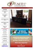 Latest Newsletter - Faith Community Church