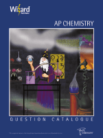 AP Chemistry - Eduware