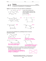 G.CO.11 Worksheet 2 - TeacherWeb