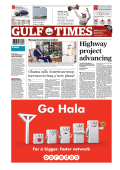 Obama warns of - Gulf Times
