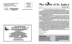 to download our current newsletter - St. Lukes United Methodist