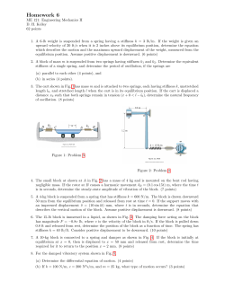 Homework 6 - Mechanical Engineering