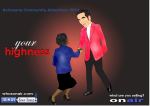 Botswana Community Advertizer 2014 Nov 04 - onair