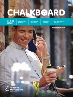 Chalkboard - Teachers Mutual Bank