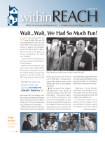 Wait...Wait, We Had So Much Fun! - REACH Community Development