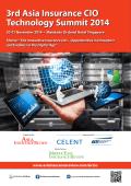 3rd Asia Insurance CIO Technology Summit 2014 20-21 November