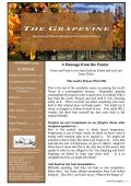 THE HE GRAPEVINE - Our Saviour Lutheran Church