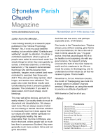 S†onelaw Parish Church Magazine - Stonelaw Church