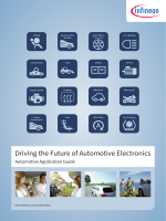 Driving the Future of Automotive Electronics - Infineon