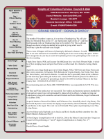 News Letter - K of C 4044