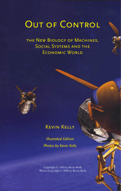 Out of Control - Kevin Kelly
