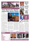 New Mount Zion Baptist elects New Senior Pastor - North Dallas