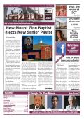 New Mount Zion Baptist elects New Senior Pastor - North Dallas