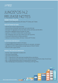 Release Notes: Junos® OS Release 14.2R1 for - Juniper Networks