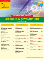 January & February 2015 - Hong Kong Training & Development