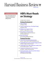 Harvard business review - UTAMU / LIbrary