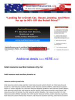 total resource auction kansas city mo - Constant Contact