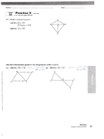 Section 4.6 Proof Practice Worksheet with Answers - San Juan