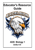 4226_Biology_Units 4-5_ERG.pdf - Learn Excelsior