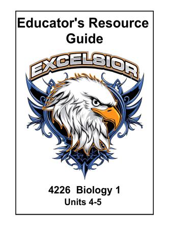 4226_Biology_Units 4-5_ERG.pdf - Learn Excelsior