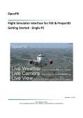OpusFSI Flight Simulator Interface for FSX & Prepar3D Getting Started