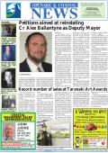 Petitions aimed at reinstating Cr Alex Ballantyne as Deputy Mayor