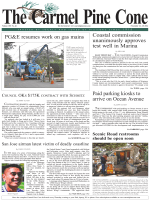 Carmel Pine Cone, November 14, 2014 (main news) - The Carmel