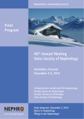 46th Annual Meeting Swiss Society of Nephrology Final - SGN-SSN