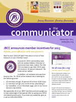 November 2014 - Jackson - Belden Chamber of Commerce