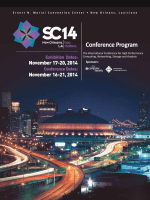 the SC14 Conference Program