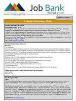 the latest job listing. - Colton-Redlands-Yucaipa Regional