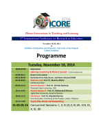 ICORE Pakistan will develop human potential to bring...