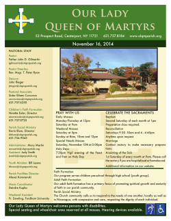 Our Lady Queen of Martyrs Parish
