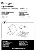 KeyFolio Pro Plus™ Folio with Backlit Keyboard for iPad® Air - Sears
