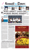 Why ARENt lAid-OFF NURSES bEiNG hiREd? - Kuwait Times