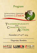 TCA 2014 – PDF version - LUMEN International Conference