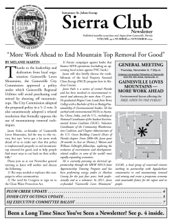 Current newsletter in pdf format. - Suwannee – St. Johns Group