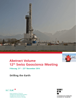 Abstract Volume 12th Swiss Geoscience Meeting - 2nd Swiss