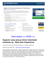 Superior asus eee pc driver download windows xp - Real User