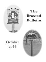 The Braxted Bulletin October 2014 - ChurchinWickhamBishops