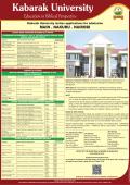 Intake Nov 2014 & Jan 2015 - Kabarak University