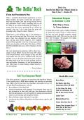 November Club Bulletin - Roseville Rock Rollers