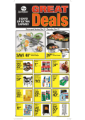 Kroger Great Deals 5 DAY SALE Ad