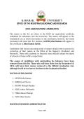 2014 graduation candidates - Kabarak University